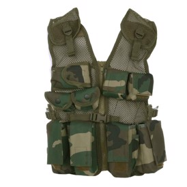 101 Inc. Tactical børne vest, woodland