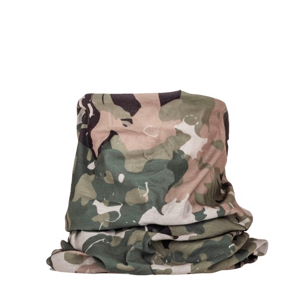 5.11 Tactical Halo Neck Gaiter halsrør i Military Green Camo
