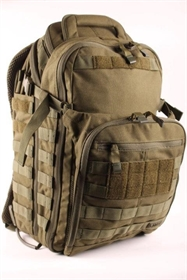 5.11 tactical All Hazards Prime rygsæk tac od