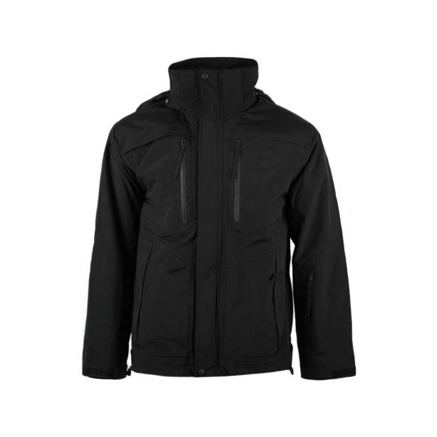 5.11 Tactical Bristol Parka jacket i sort softshell