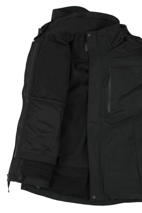Tactical 5.11 Bristol Parka i sort softshell