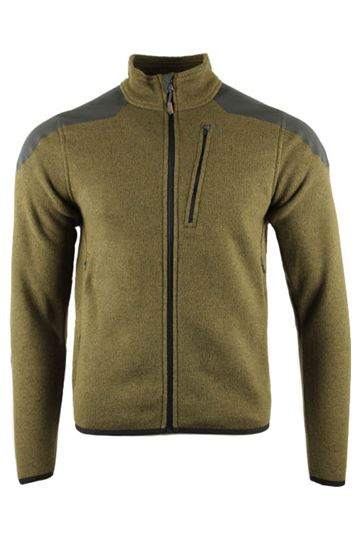 Tactical 5.11 Full Zip Sweater i oliven