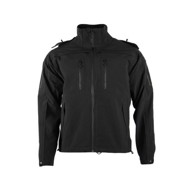5.11 Tactical Sabre 2.0 jacket i sort softshell