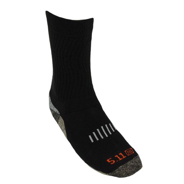 Tactical 5.11 Year Round Marino wool Copper crew socks sort