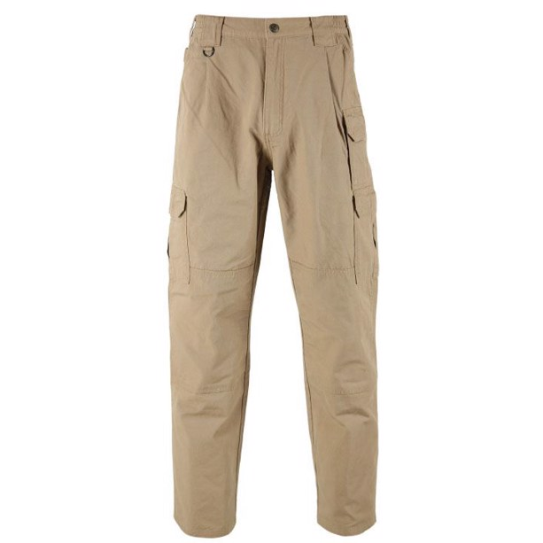 5.11 tactical cargo bukser i coyote bomuld