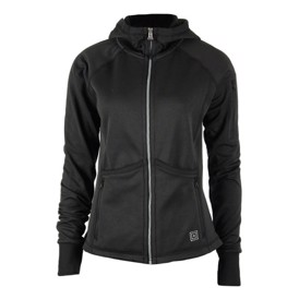 Tactical 5.11 horizon dame hoodie i sort