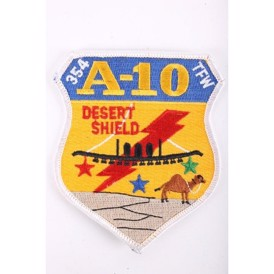 US desert shield patch