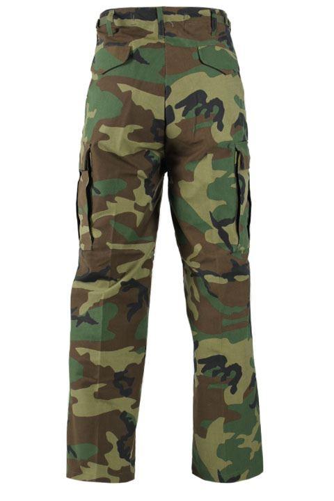 Jagtbukser i M65 model woodland camouflage bukser
