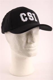 Baseball cap, sort, CSI, ny