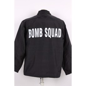 Official jakke Bomb Squad sort, L