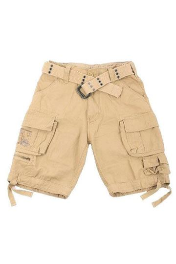 Savage brandit shorts i beige