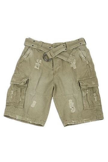 Shell Valley Heavy oliven vintage shorts fra Brandit
