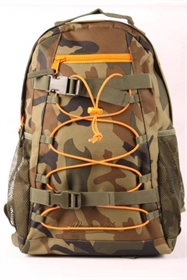 Brandit Urban Cruiser rygsæk, 20 liter, Woodland/Oliven/Orange