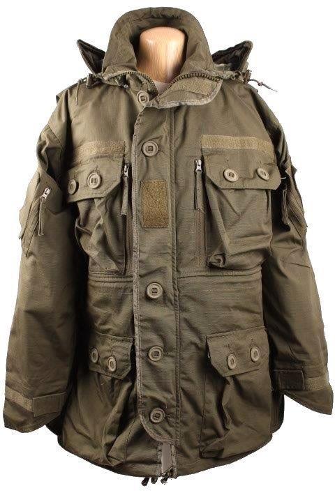 3e10045e Slidstærk Tacgear Commando Smock jakke i oliven.