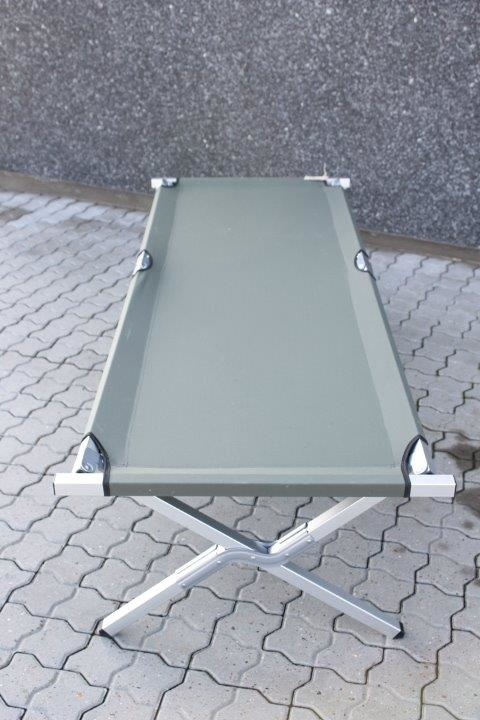 camping seng Feltseng i aluminium   ekstra kraftig campingseng. camping seng