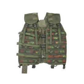 Hollandsk woodland nylon molle vest