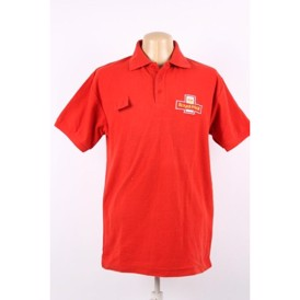 Royal Mail polo shirt - rød med logo
