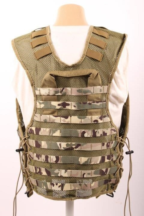Tactical multicam vest