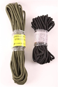 Paracord, nylon, 7 mm x 15 m, grøn