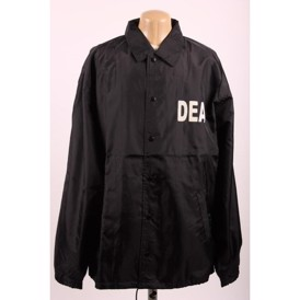 Official jakke DEA sort