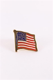 USA´s flag som metal pin