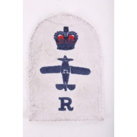 Royal Airforce patch med krone og fly