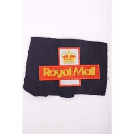 Stofmærke, UK Royal Mail, 80x48 mm