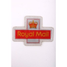 Mærke, UK Royal Mail, plast, 82x58 mm