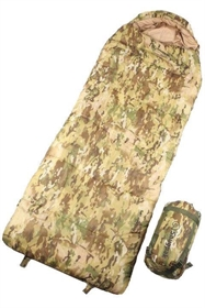 Børnesovepose i multicam, snugpak