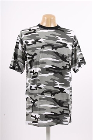 T-shirt 100% bomuld urban camouflage