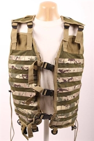 Tactical MOLLE vest i multicam