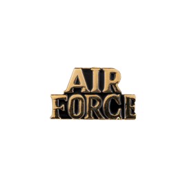 Air Force emblem i guld