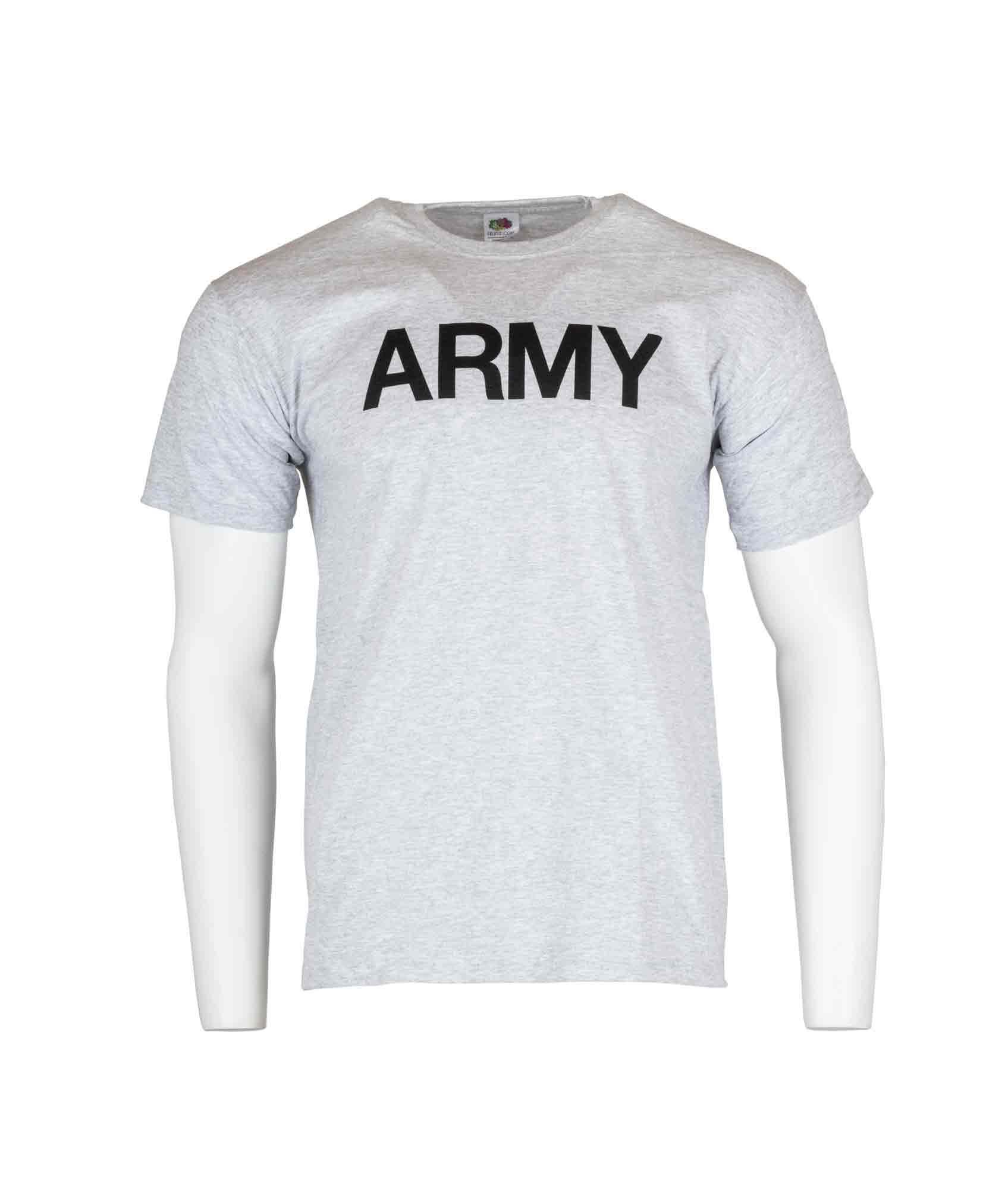 T shirt ARMY, grå