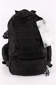Assault pack rygsæk, 60 l, Sort