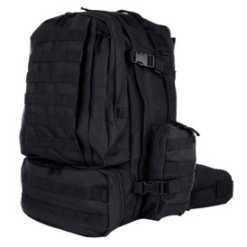 3-dags assault pack med MOLLE stropper