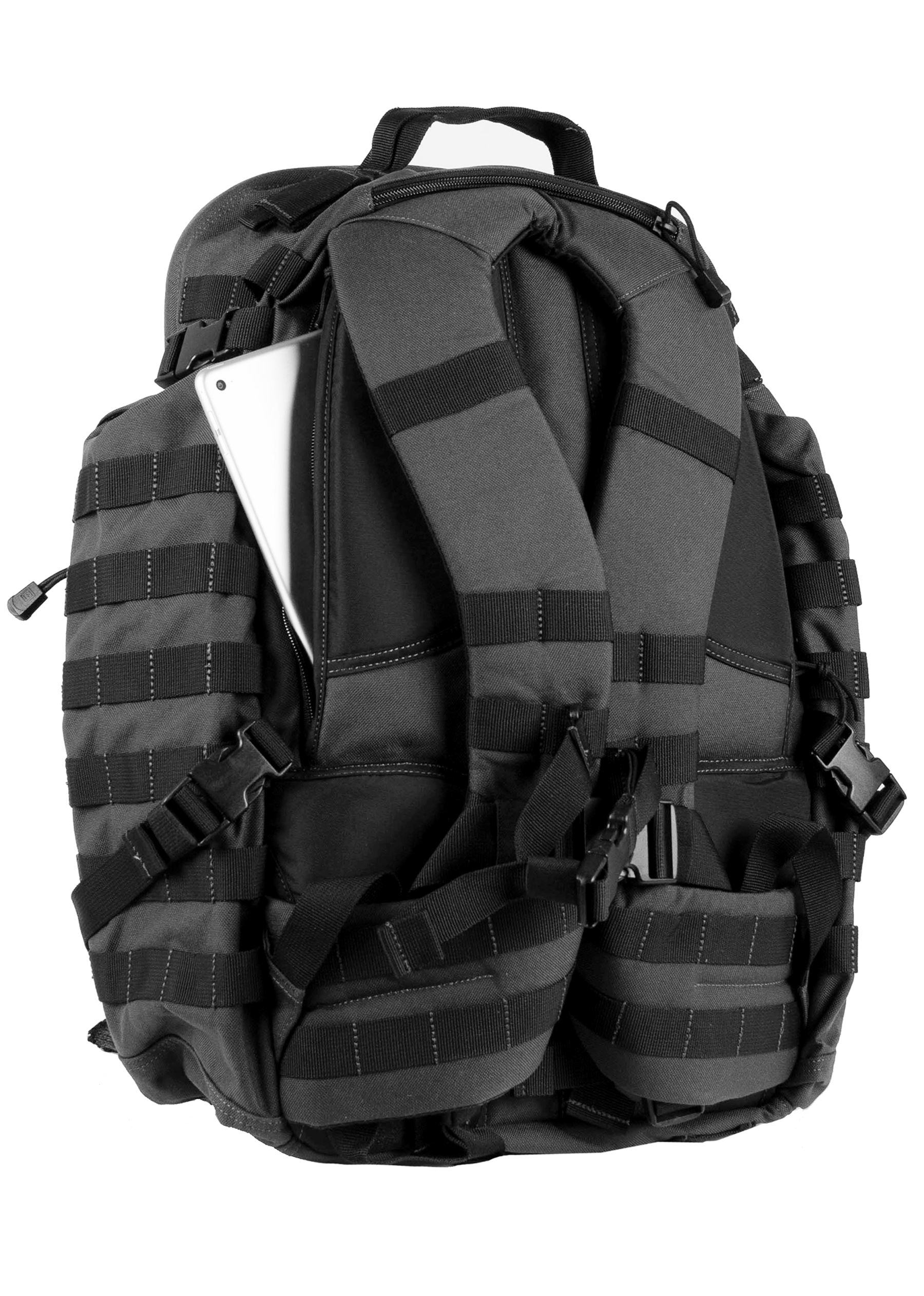 Rush72 backpack med polstret ryg og skulderstropper