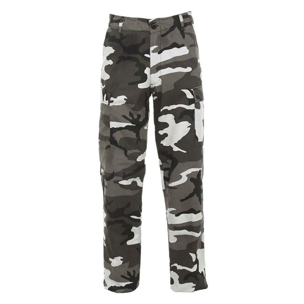 BDU camouflagebukser, urban camouflage
