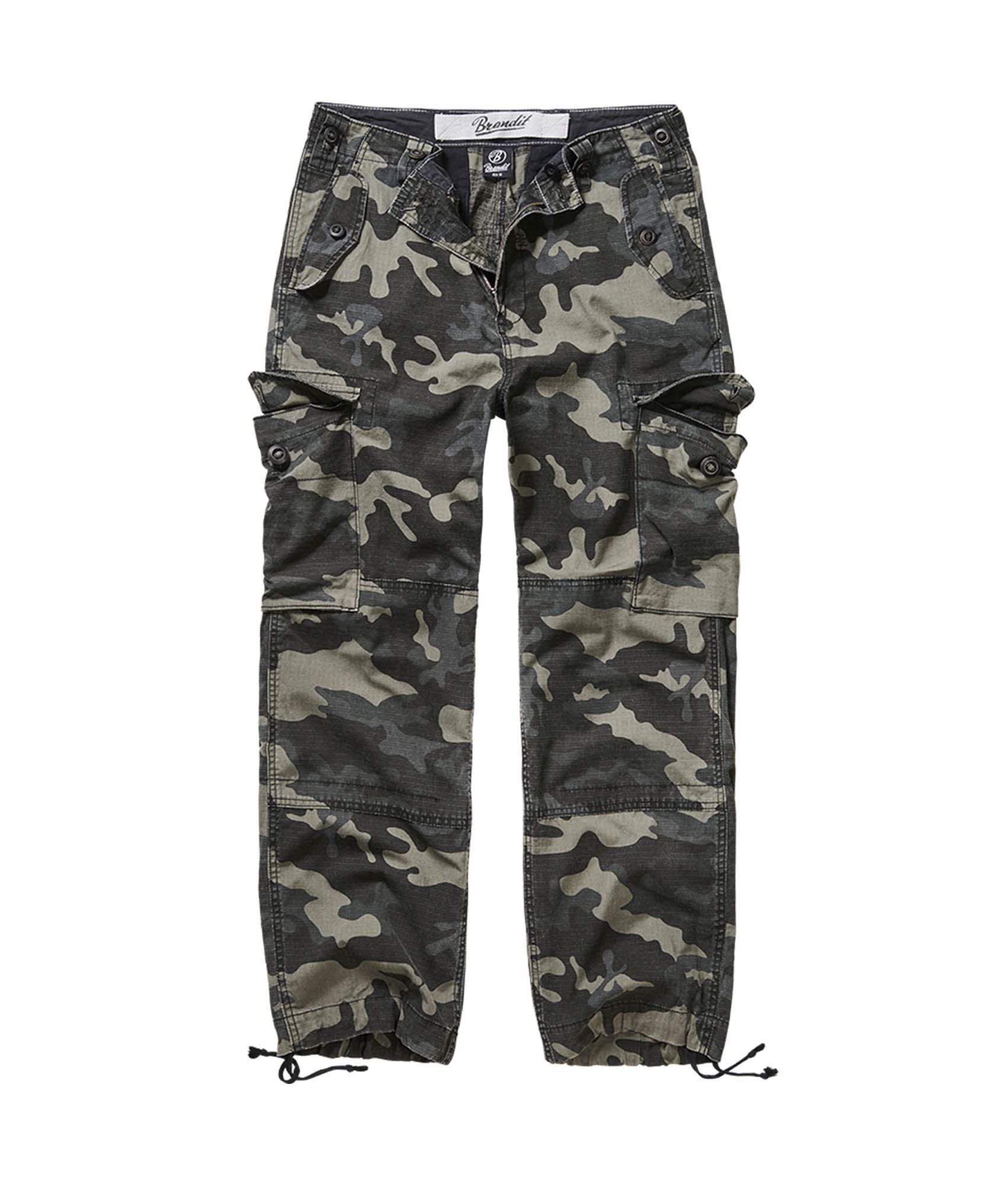 Brandit Hudson Ripstop cargo bukser, darkcamo