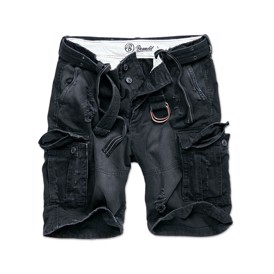 Shell Valley Heavy sorte vintage shorts fra Brandit