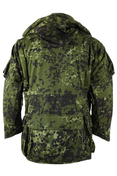 Tacgear Commando Smock II, dansk M84 camouflage