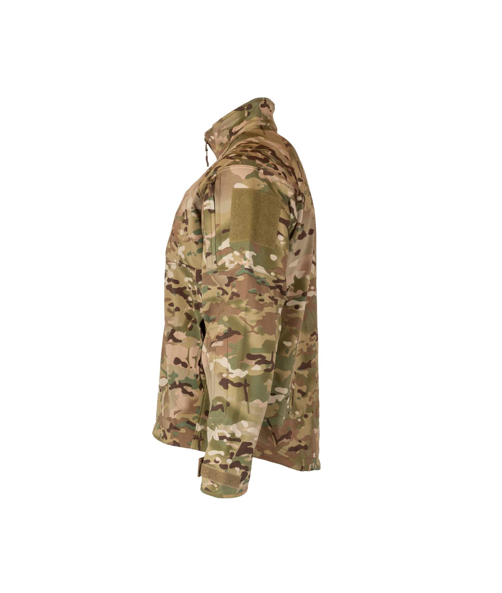Commander softshell camouflagejakke