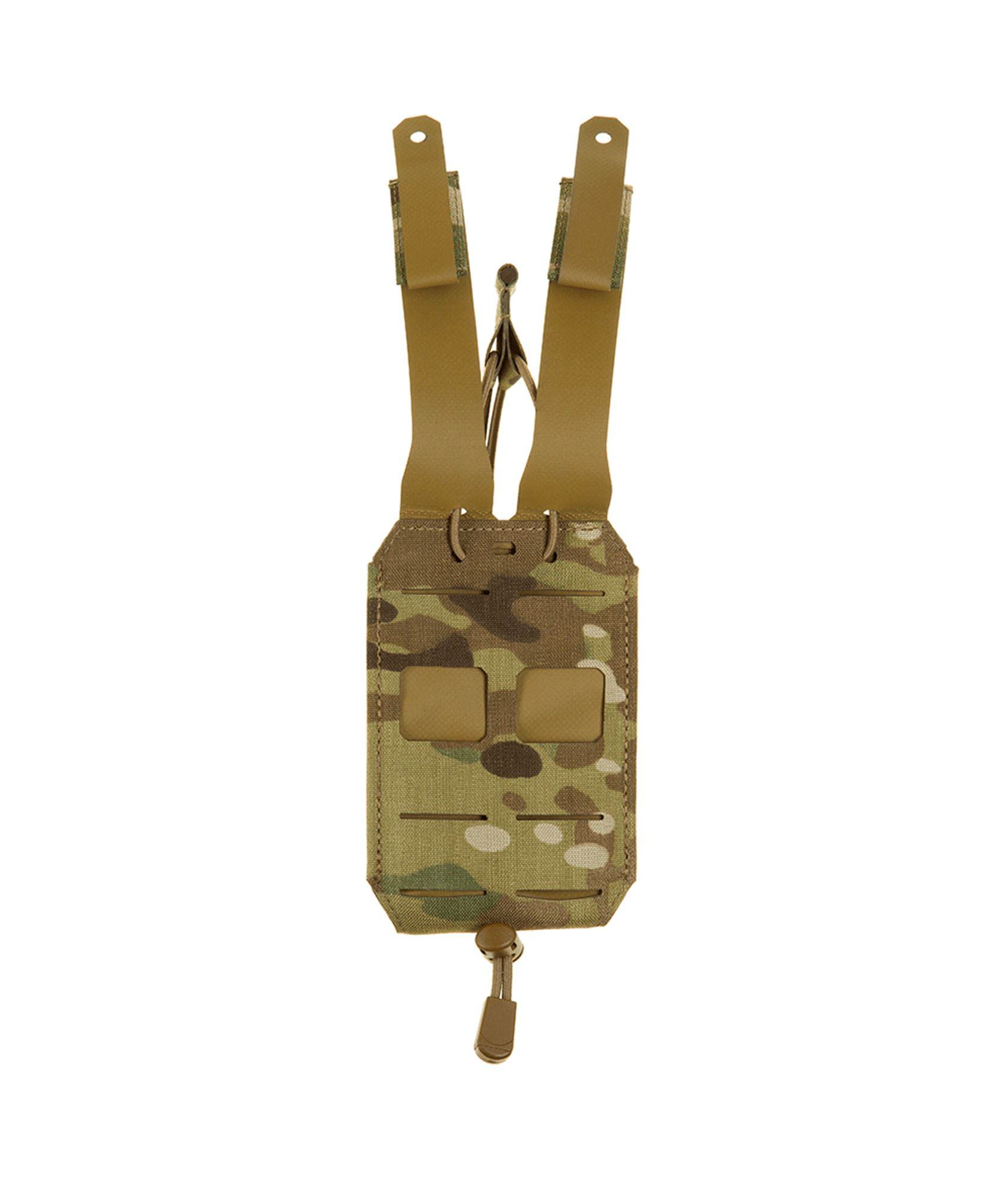 Multicam riffelpouch fra Clawgear med MOLLE system