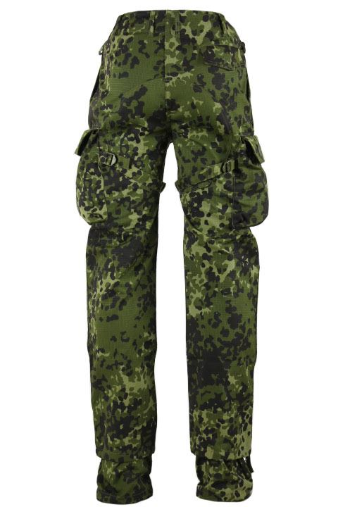 Tacgear Commando pants, dansk M84 camouflage