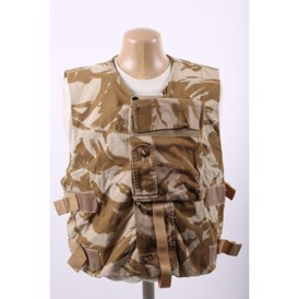 cover body armour is desert L