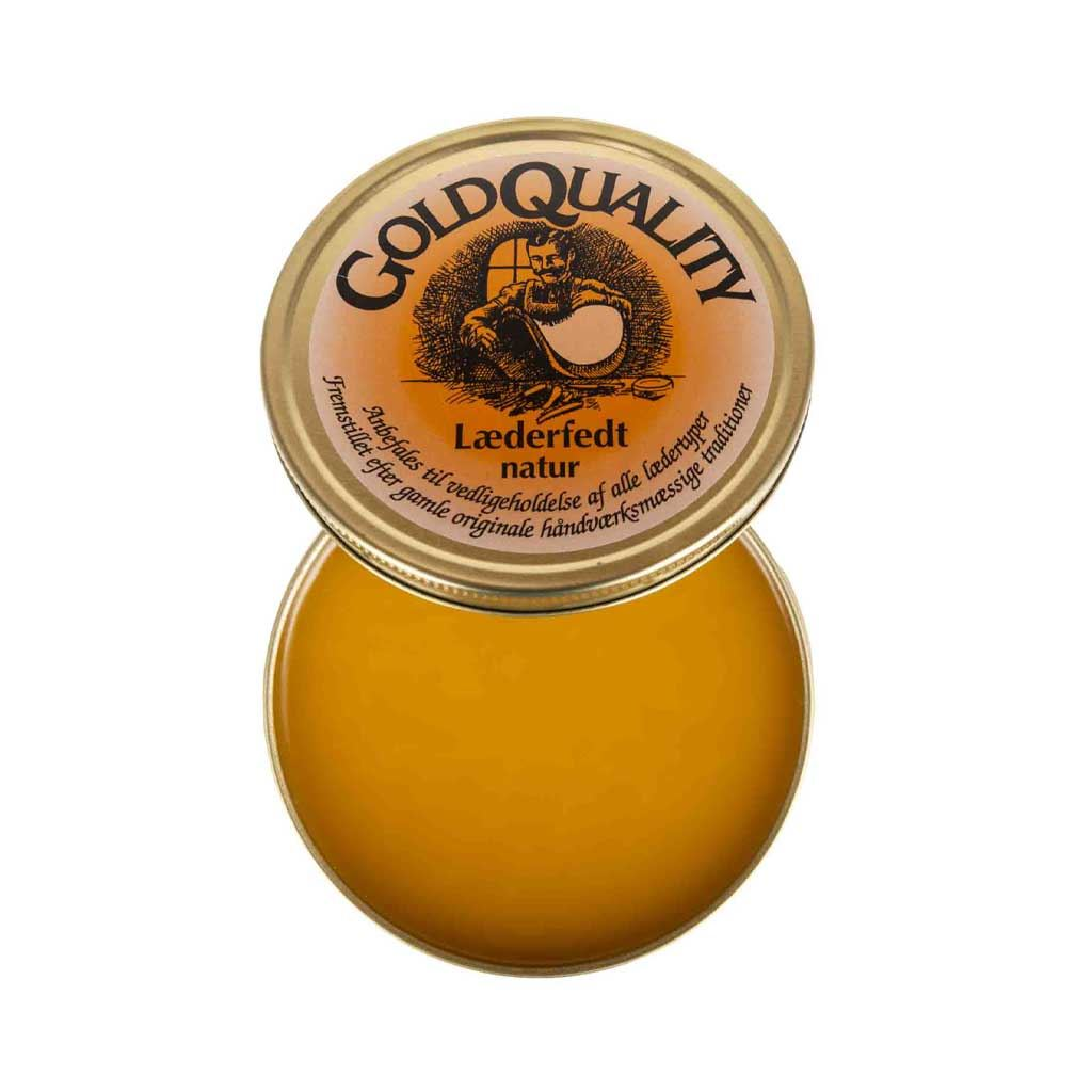 Læderfedt med imprægnerende bivoks Golden quality