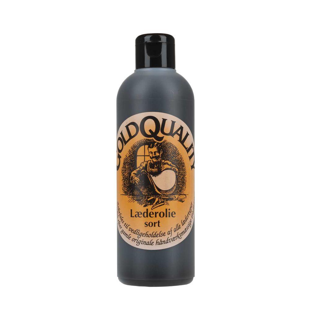 Gold Quality, læderolie, 250 ml