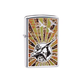 Blankpoleret Zippo Hunter lighter