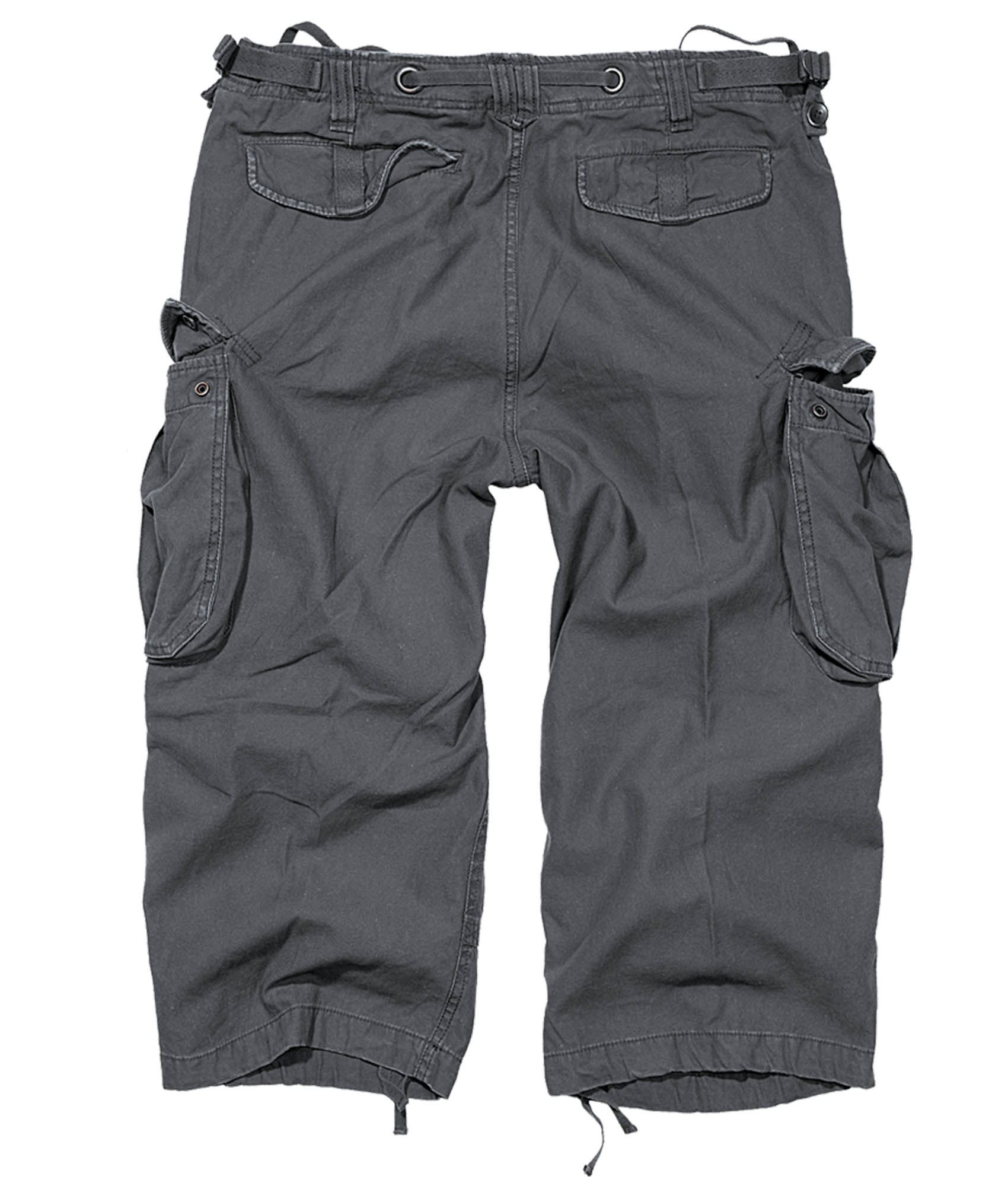 Brandit Cargo shorts Industry 3/4  i anthracite