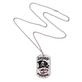 Jolly Rogers dogtag