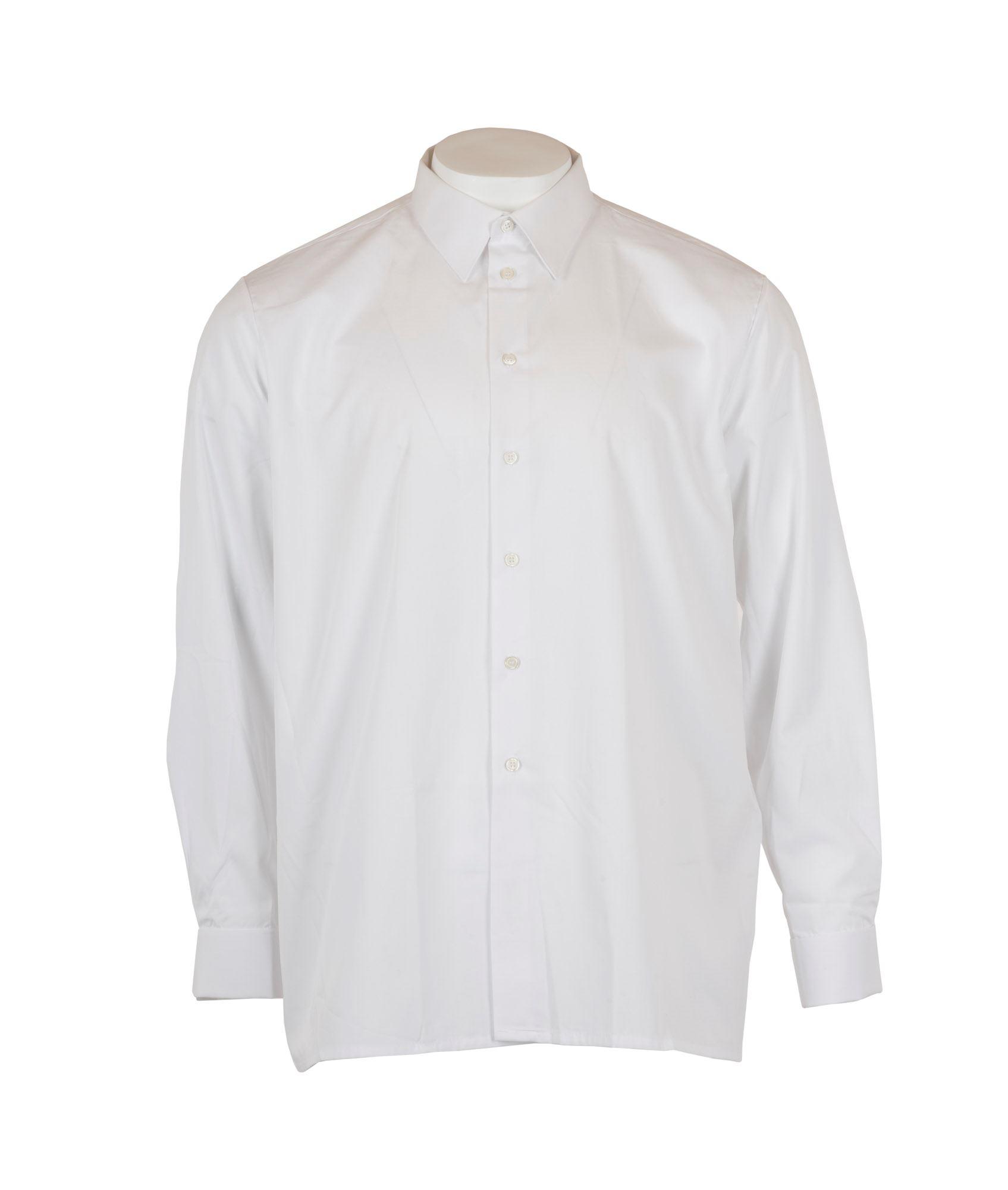 1c274b2d Køb Hvid skjorte fra dansk militær m. lange ærmer hos 417.dk